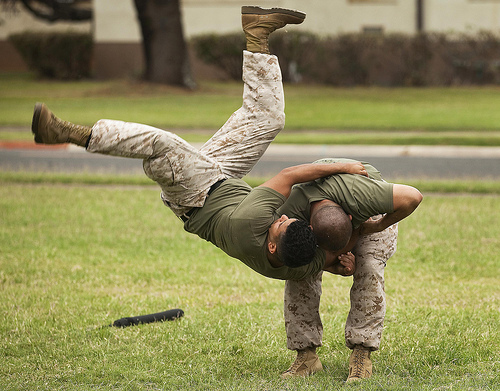 Top-level Marine instructors use martial arts workshop to renew, re-certify ethical warriors [Image 3 of 3] / dvids